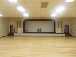 Parish Hall Dance Floor